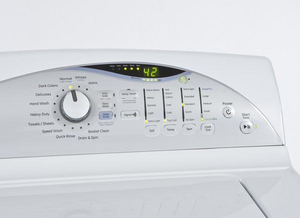 GE GTWN5650FWS 3.9 DOE CU. FT. Washer