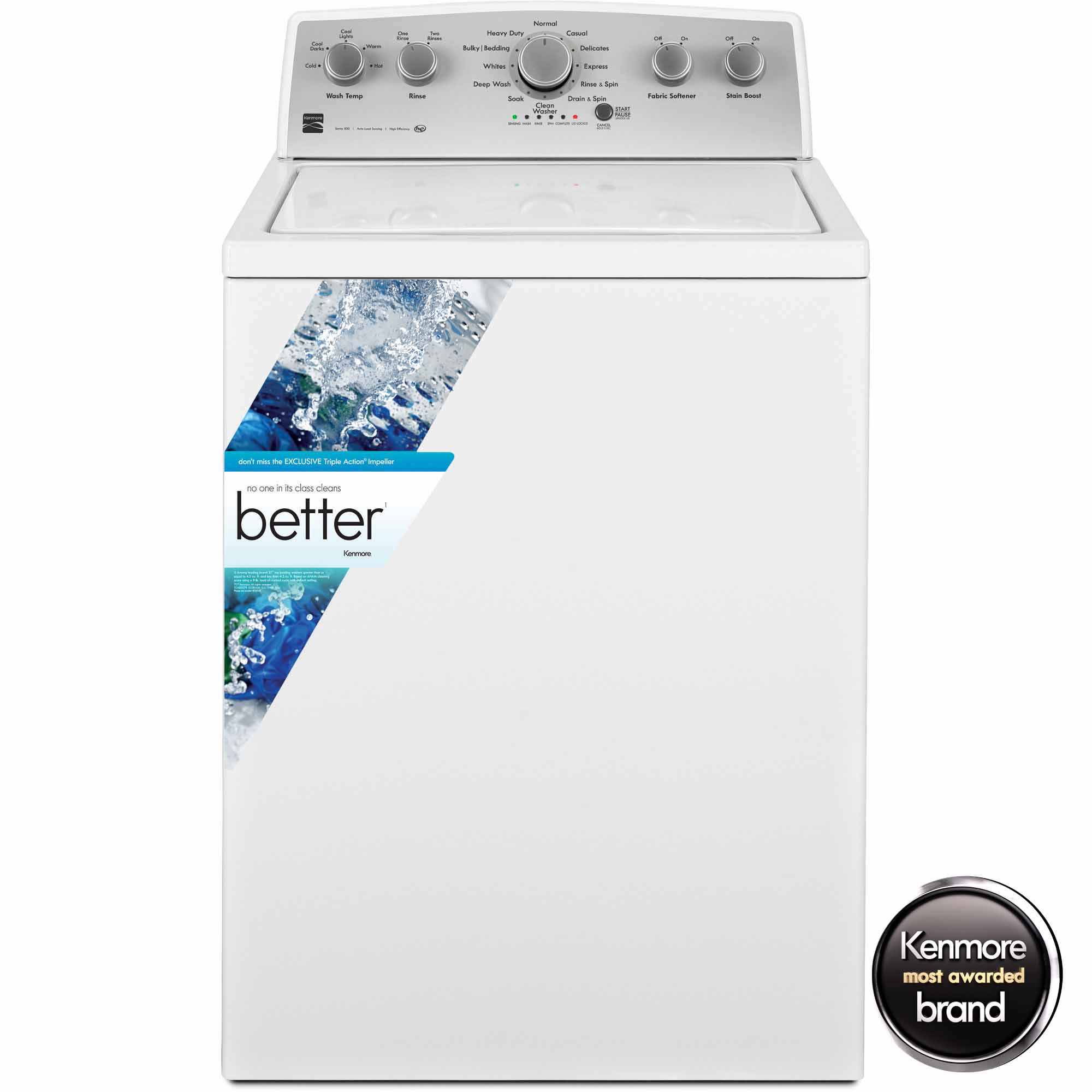 Kenmore 25132 Top Load 4.3 Cu. Ft Washer Review