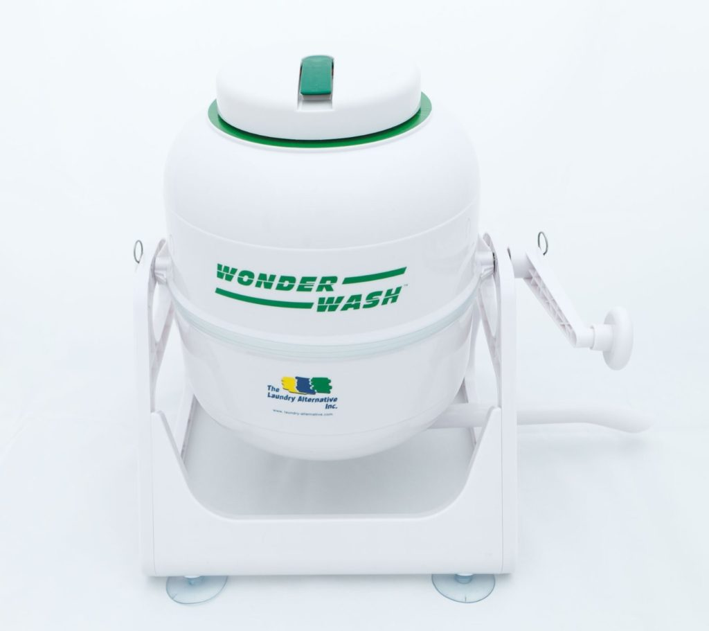 Laundry Alternative Wonderwash Non-electric Portable Compact Mini Washing Machine